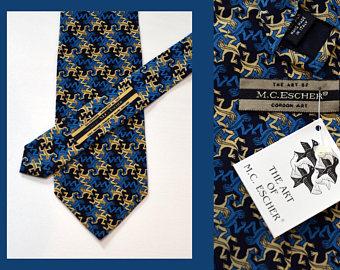 M.c.escher clipart sandwich Etsy 56 Mc necktie on