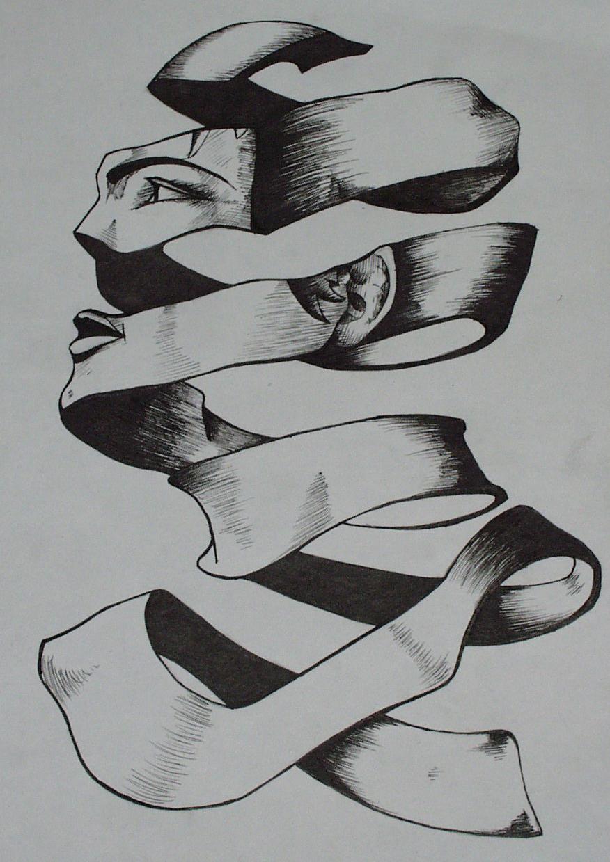 M.c.escher clipart shoe MC about more de Escher