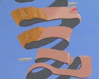 M.c.escher clipart shoe Etsy c M A By