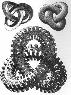 M.c.escher clipart snake & Devils MC White Escher