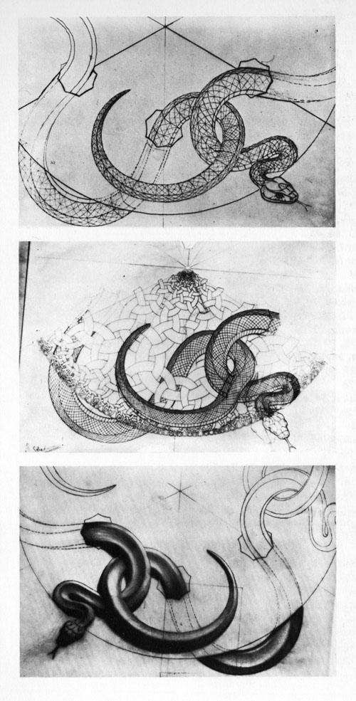 M.c.escher clipart snake Snakes jpg Escher's snakes