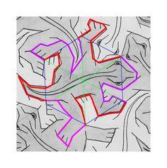 M.c.escher clipart snowman Router/mill Tiles M Your C