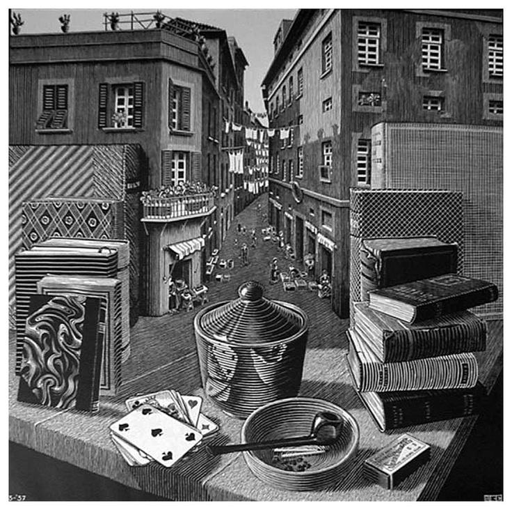 Drawn m.c.escher cute Escher/Tesselations Pinterest 144 Masters: Art: