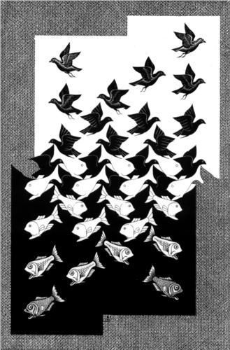 M.c.escher clipart soap Style: Sky Completion about and