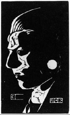 M.c.escher clipart soap 17 M 13 Portrait 1919