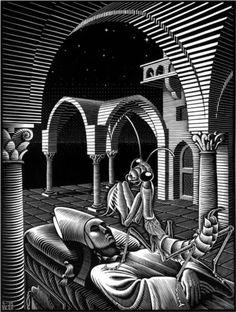 M.c.escher clipart soap 5 C 1 c Escher