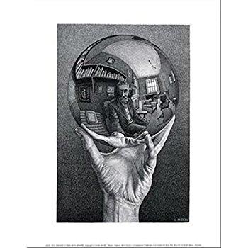 M.c.escher clipart sport Amazon 11x14 Sphere Print Escher