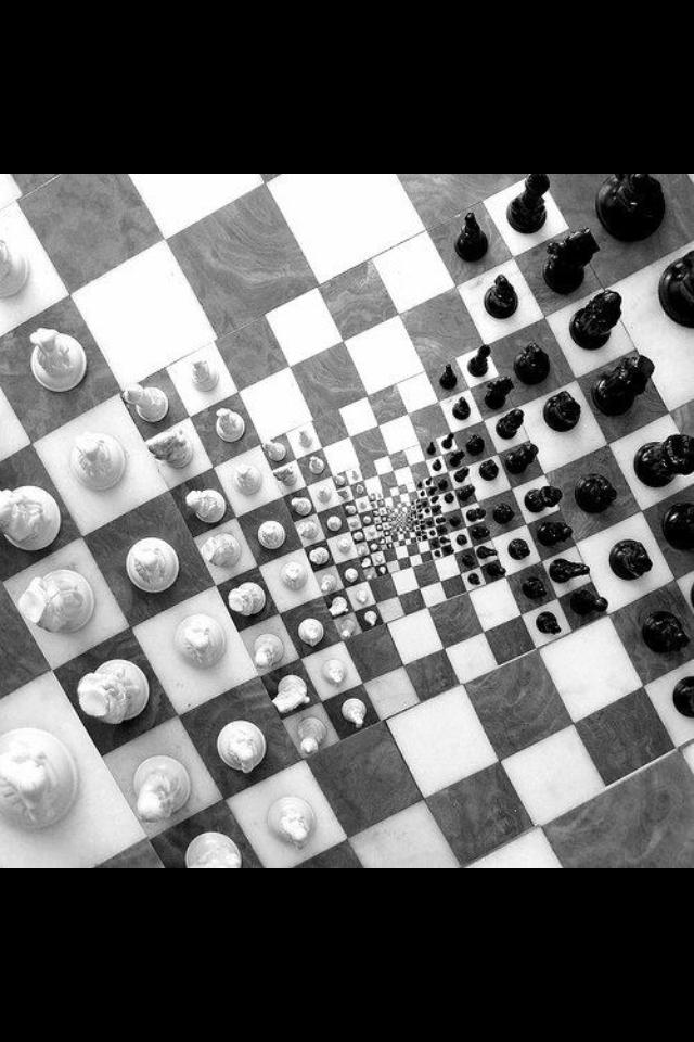 M.c.escher clipart sport Chess C M Chess Chess