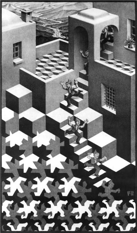 M.c.escher clipart starfish On C Escher images about