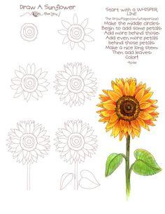 Trippy clipart sunflower #11