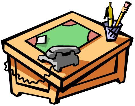 Desk clipart woodshop Clip M Snark Shop Escher