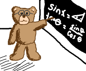 M.c.escher clipart teddy bear Teaches Teddy Squared trigonometry Escher