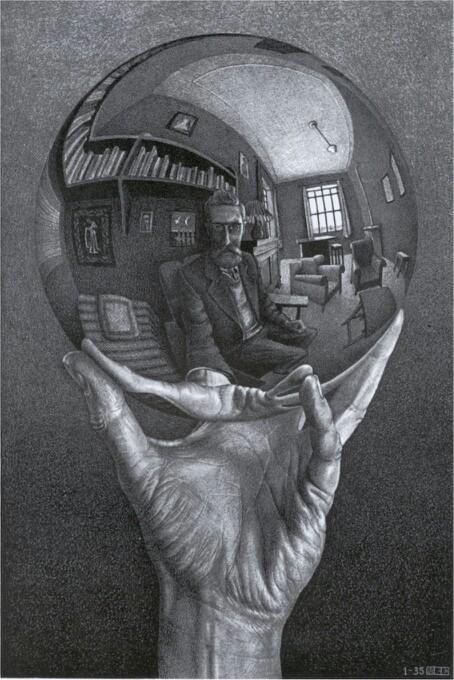 M.c.escher clipart tooth Más un un como Escher