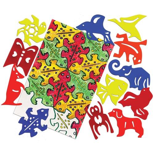 M.c.escher clipart toy By Bruce roylco design elephant