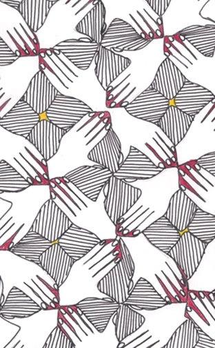 M.c.escher clipart turkey Best tesselated images 25 Pinterest