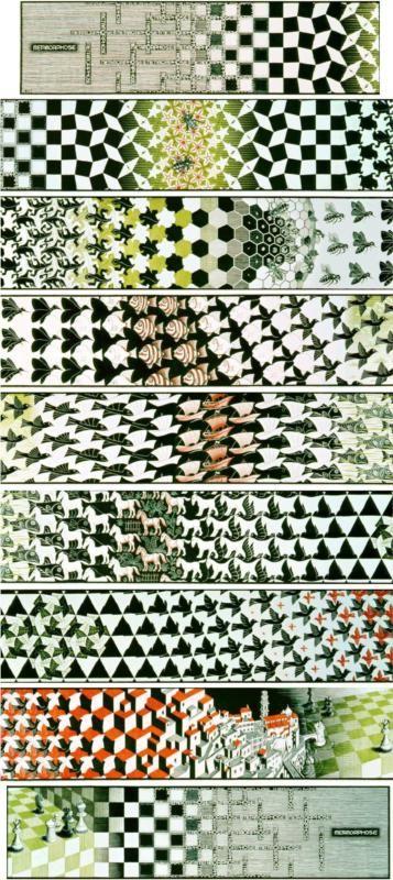 M.c.escher clipart volcano Best Escher on  Pinterest