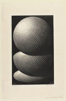 M.c.escher clipart volcano Escher Escher 1945 on 74