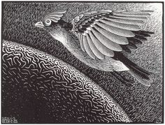 M.c.escher clipart volcano Day Angels Creation