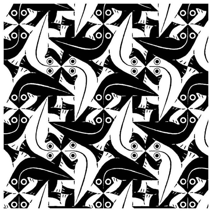 M.c.escher clipart volcano Escher: Illusions for pictures on