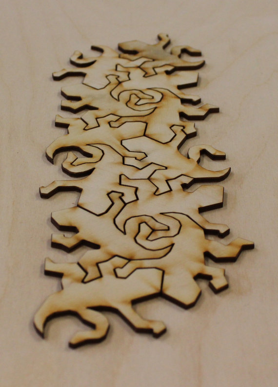 M.c.escher clipart volcano Escher a from C plywood