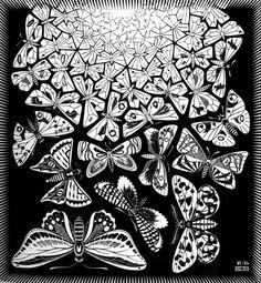 M.c.escher clipart volcano Escher by M get a