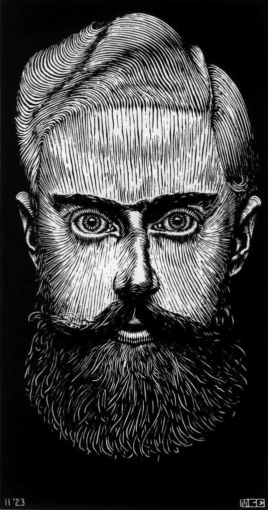 Drawn m.c.escher jessica rabbit Self Escher ideas art Self