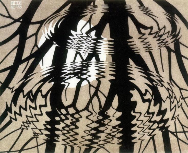 M.c.escher clipart water Escher M bosch and on