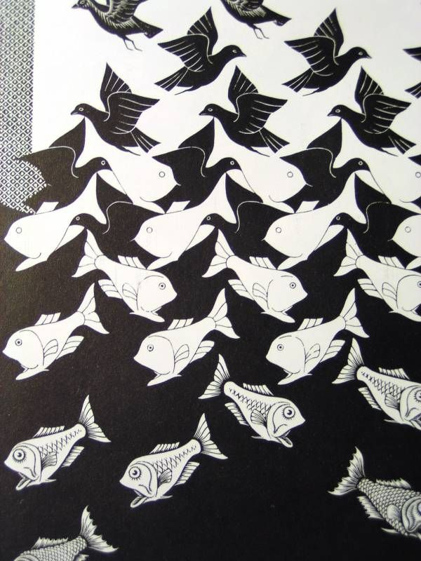 M.c.escher clipart water And about Pinterest Water images
