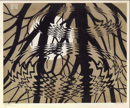 M.c.escher clipart water De Escher de :