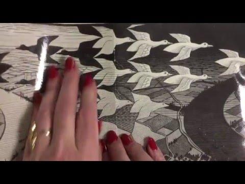 M.c.escher clipart winter Draw: TEACH Draw: M Escher
