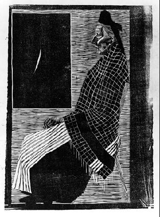 M.c.escher clipart woman Gallery Woman Old picture woodcut