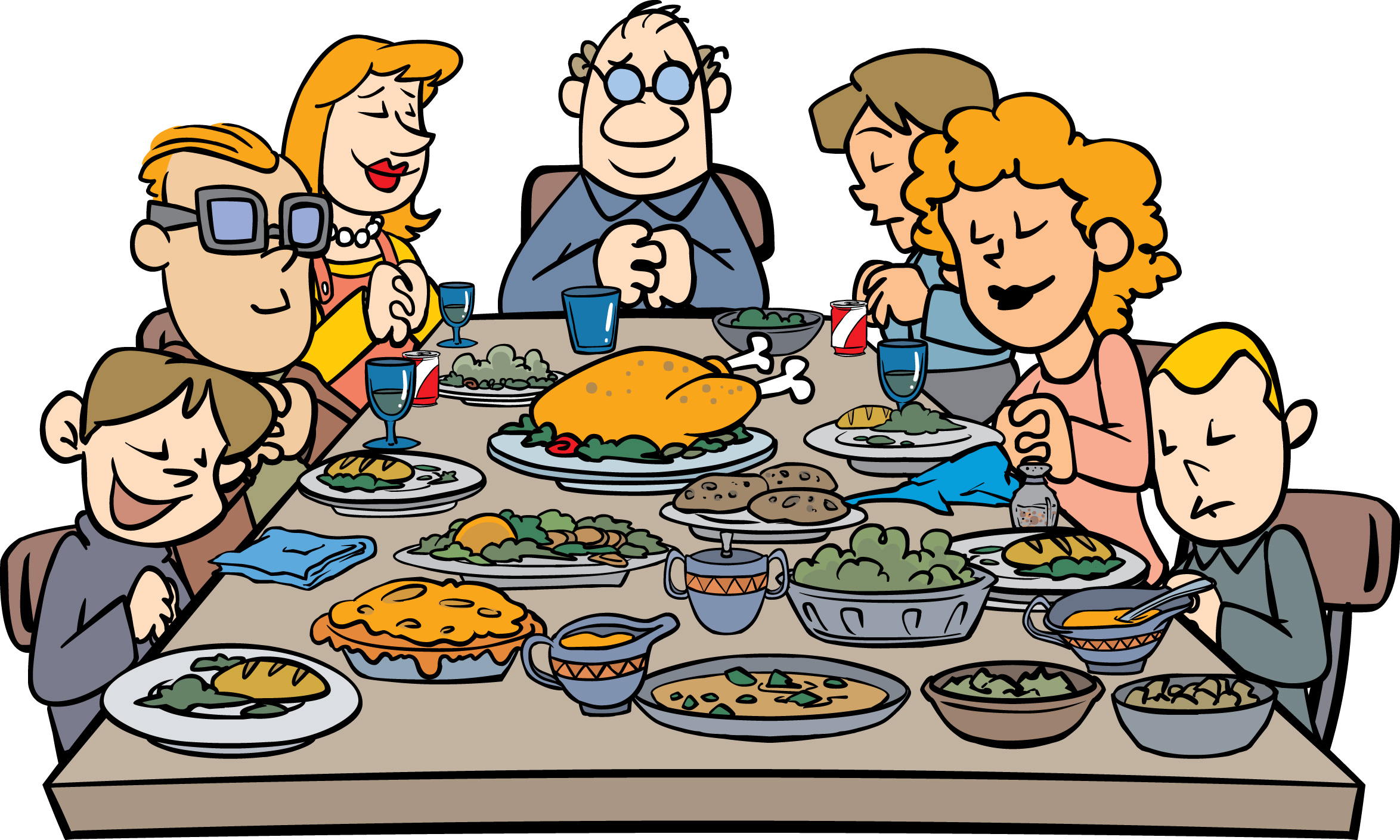 Traditional clipart formal dinner Clipart clipart Dinner Clipartix meals