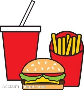 Drink clipart take away Clipart Clipartner Meal Burger &