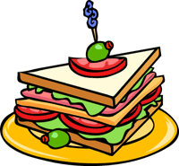 Meal clipart Free & Clipart Animations sandwich