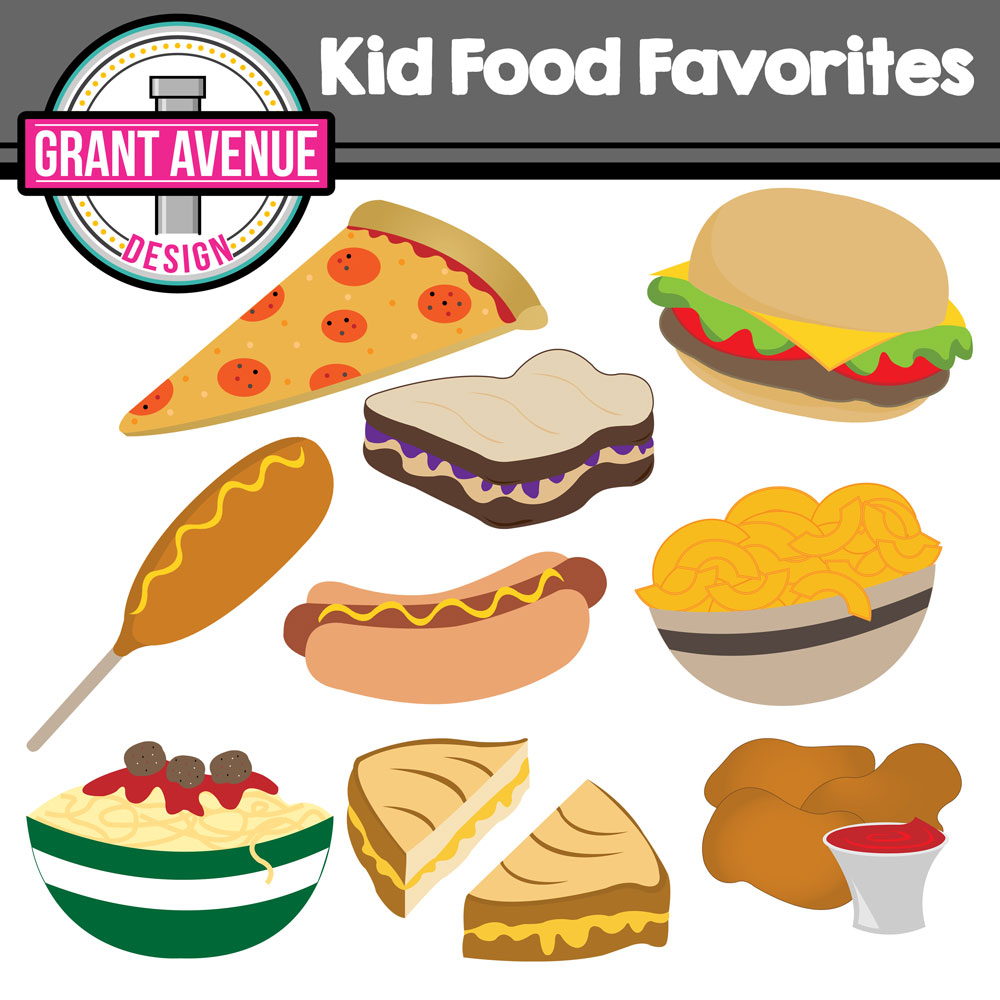 Food clipart for kid #12