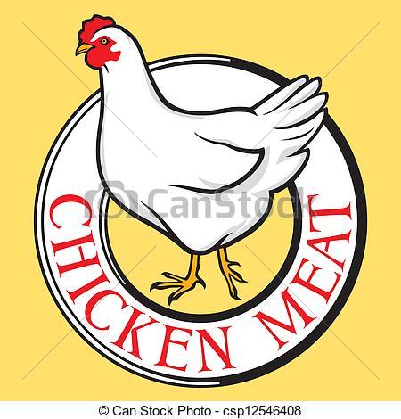 Chicken clipart logo Vector csp12546408  Clip Vector