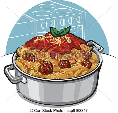 Pasta clipart spaghetti and meatball Meatballs with meatballs  with