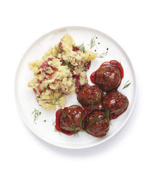 Meatball clipart entree Easy 10 Meatball Glazed Meatballs