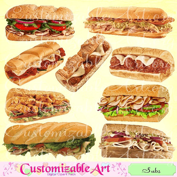 Meatball clipart hoagie Wedge Sandwich similar to Sub