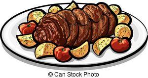 Meatloaf clipart Meatloaf Clip Art Clipart Clip