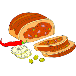Meatloaf clipart 1 clipart cliparts download eps