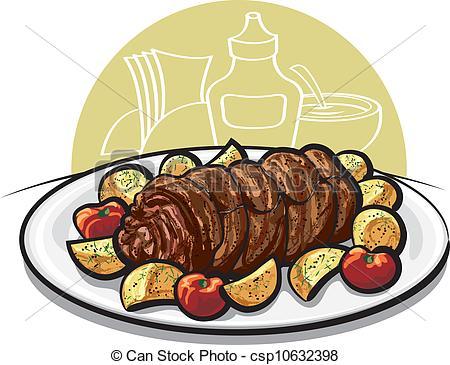 Meatloaf clipart carne asada Download Clipart Meatloaf Clip –