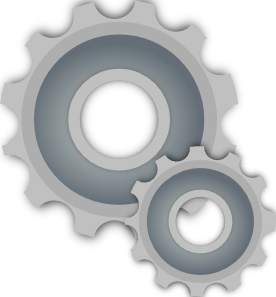Gears clipart mechanical gear Clip Gears free  Art