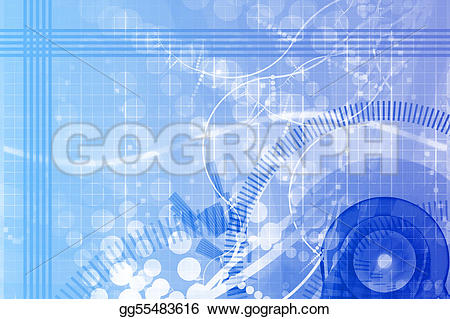 Mechanical clipart abstract Science  Illustration Stock Clipart