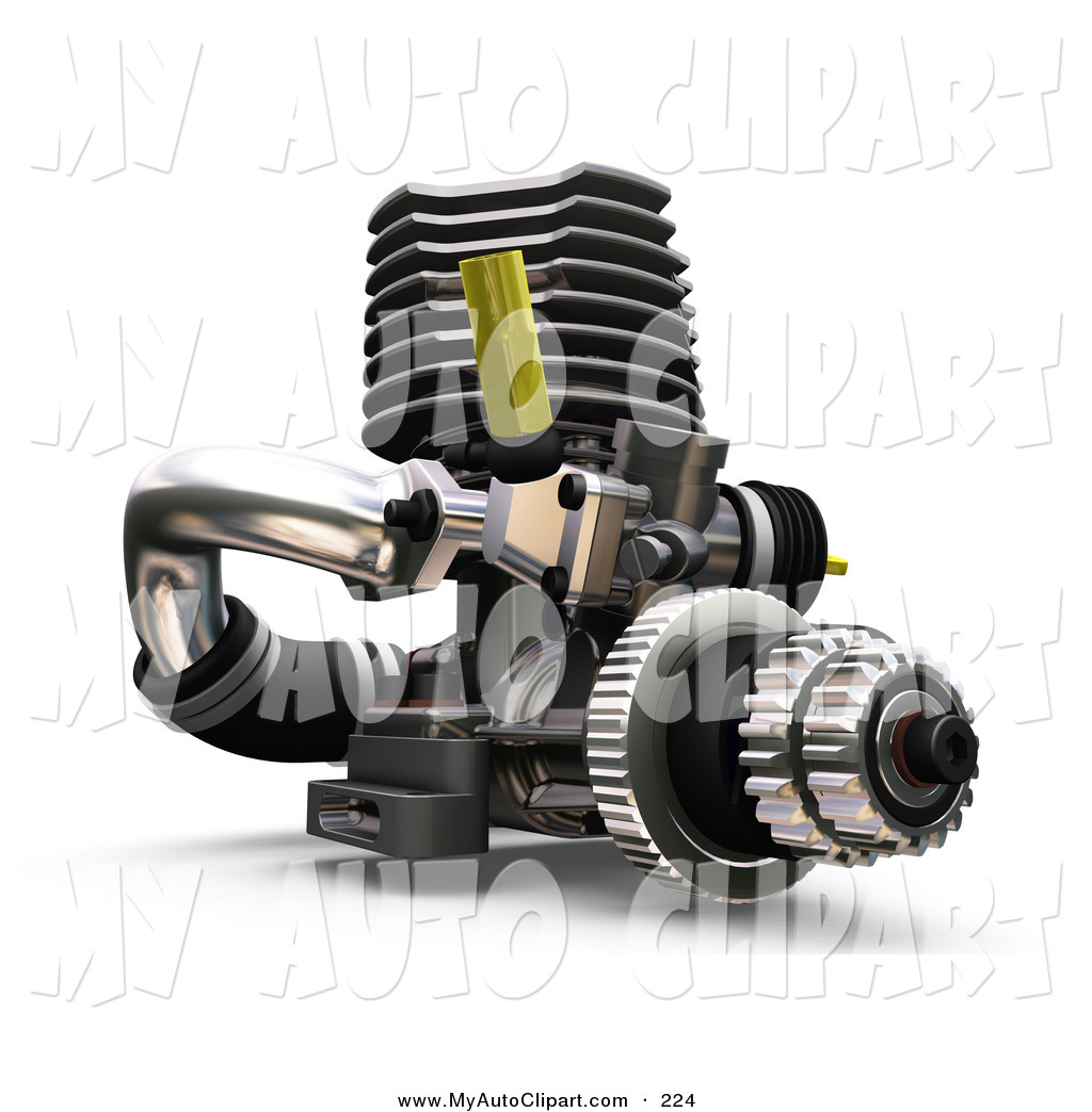 Mechanical clipart car part Black with Mechanical Yellow White