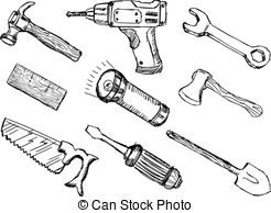 Mechanical clipart contractor tool 324 drawn Tools  free