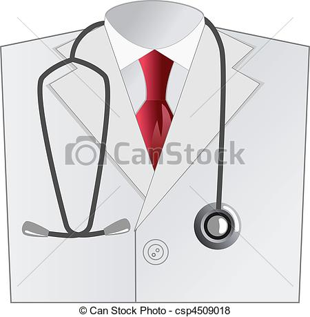 Medical clipart apron Of medical doctor coat with