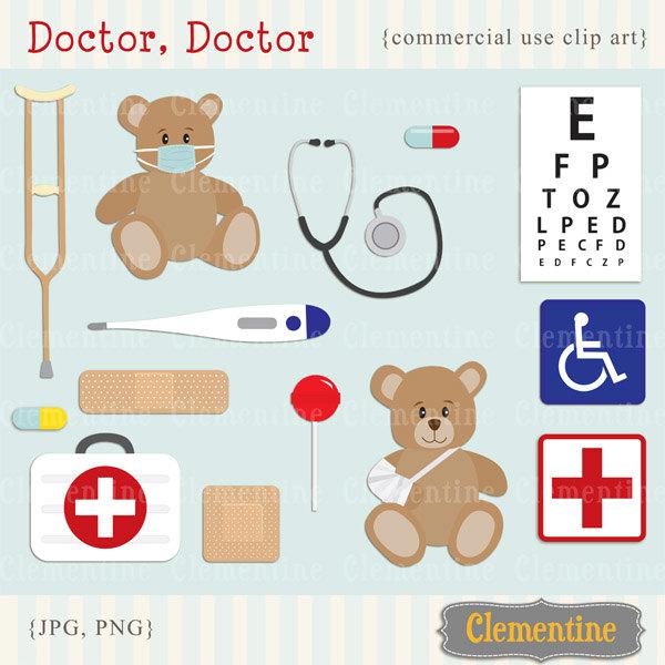 Teddy clipart doctor #6