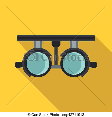Medical clipart goggles Flat Clip Art style of