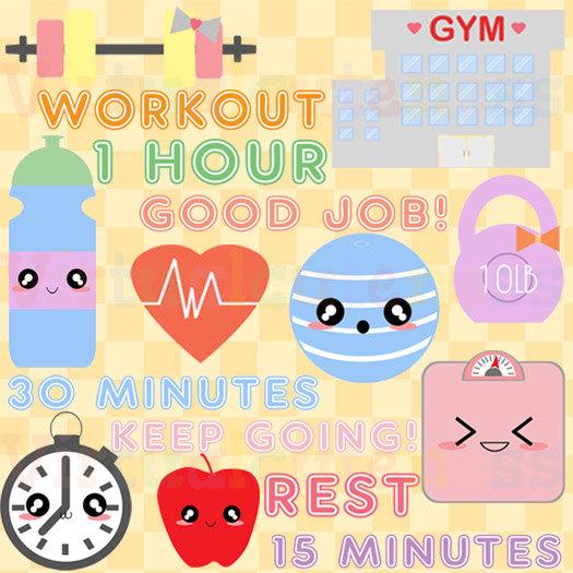 Musical clipart workout #1